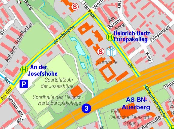 Heinrich-Hertz-Europakolleg / GBA, Sporthalle