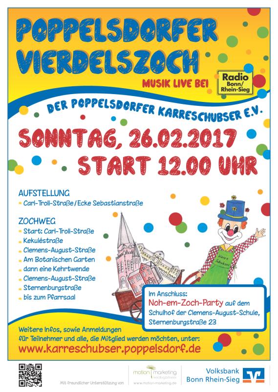 Poppelsdorfer Karreschubser - Poppelsdorfer_Vierdelszoch_2017