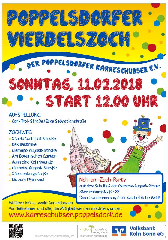 Poppelsdorfer Vierdelszoch 2018